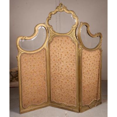 Paravent De Style Louis XV
