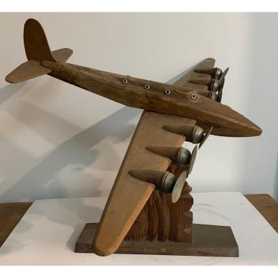 Superfortress Wood Sculpture