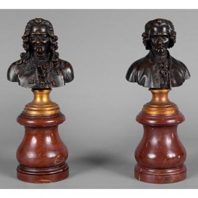 Small Pair Of Busts