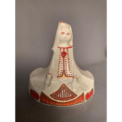 Crackle Covered Ceramic, 1930