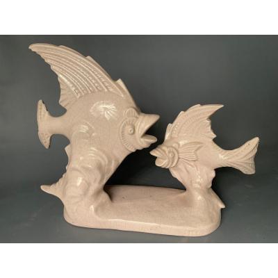 Céramique à Couverte Craquelée, 1930