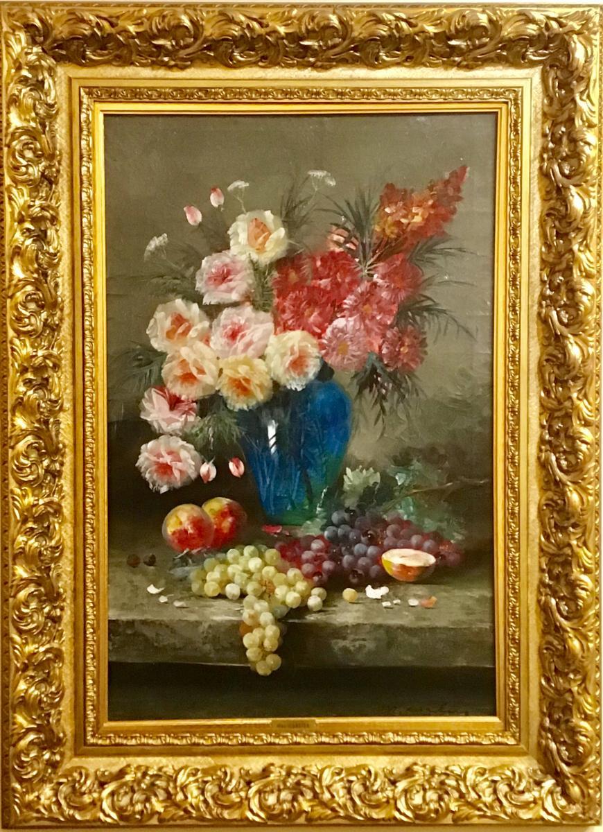 Bouquet De Roses Par Max Carlier