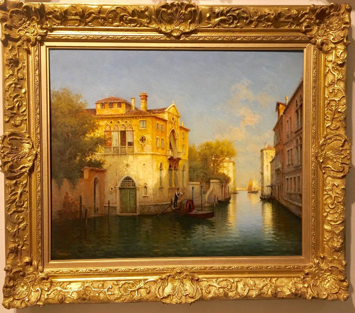 View Of Venice By Vallin (hugo Golli)