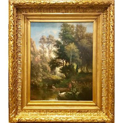 Paysage de forêt Par Benjamin Duston