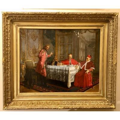 Le Repas Des Cardinaux Par Maurice Joron