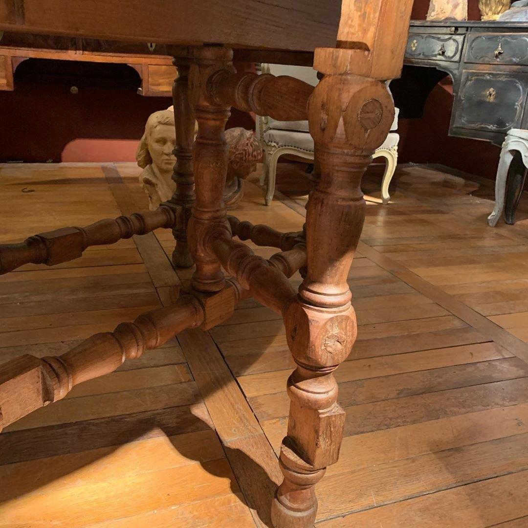 Grande Table Gateleg 17ème-photo-4