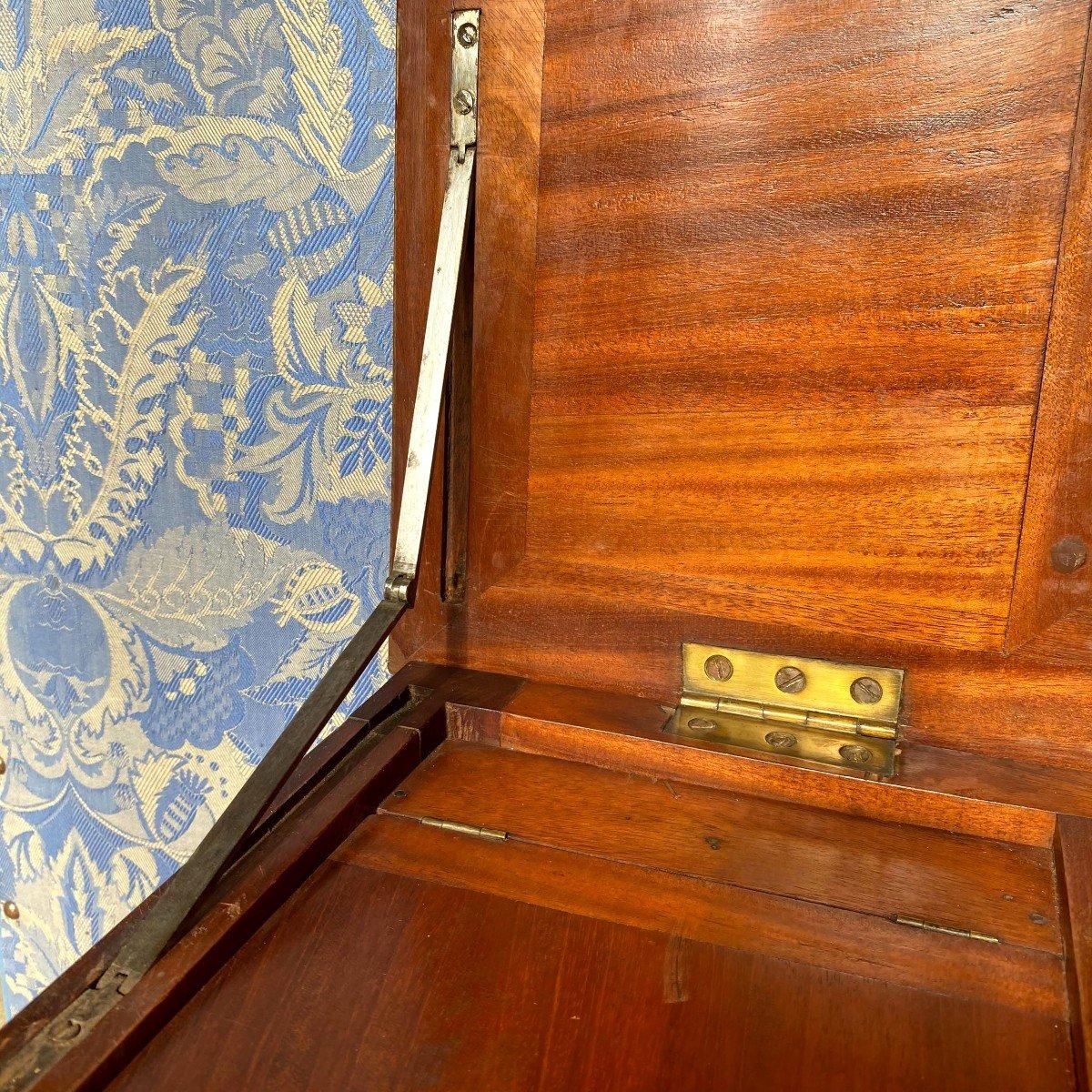 Coiffeuse d'Homme En Acajou Louis XVI 18ème-photo-7
