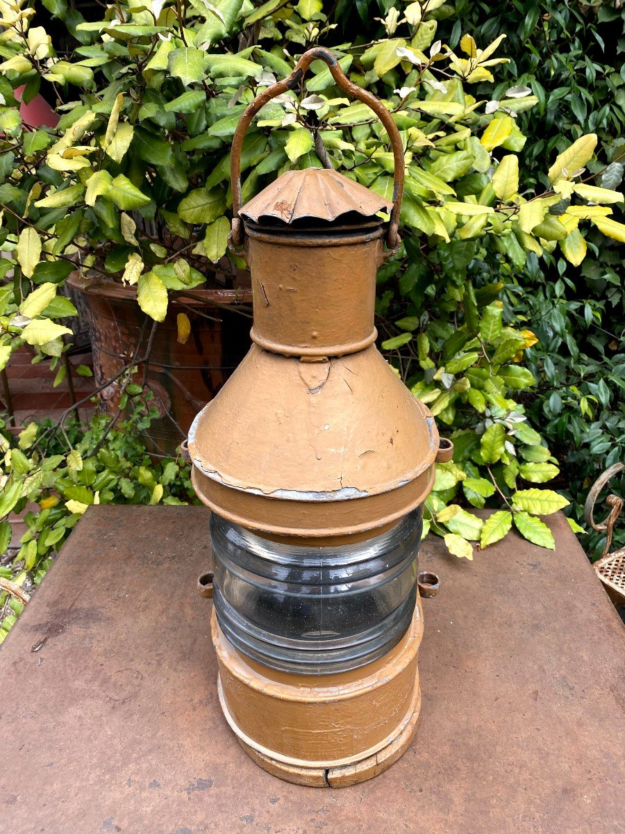 Lanterne d'Applique de Bateau 19ème-photo-2