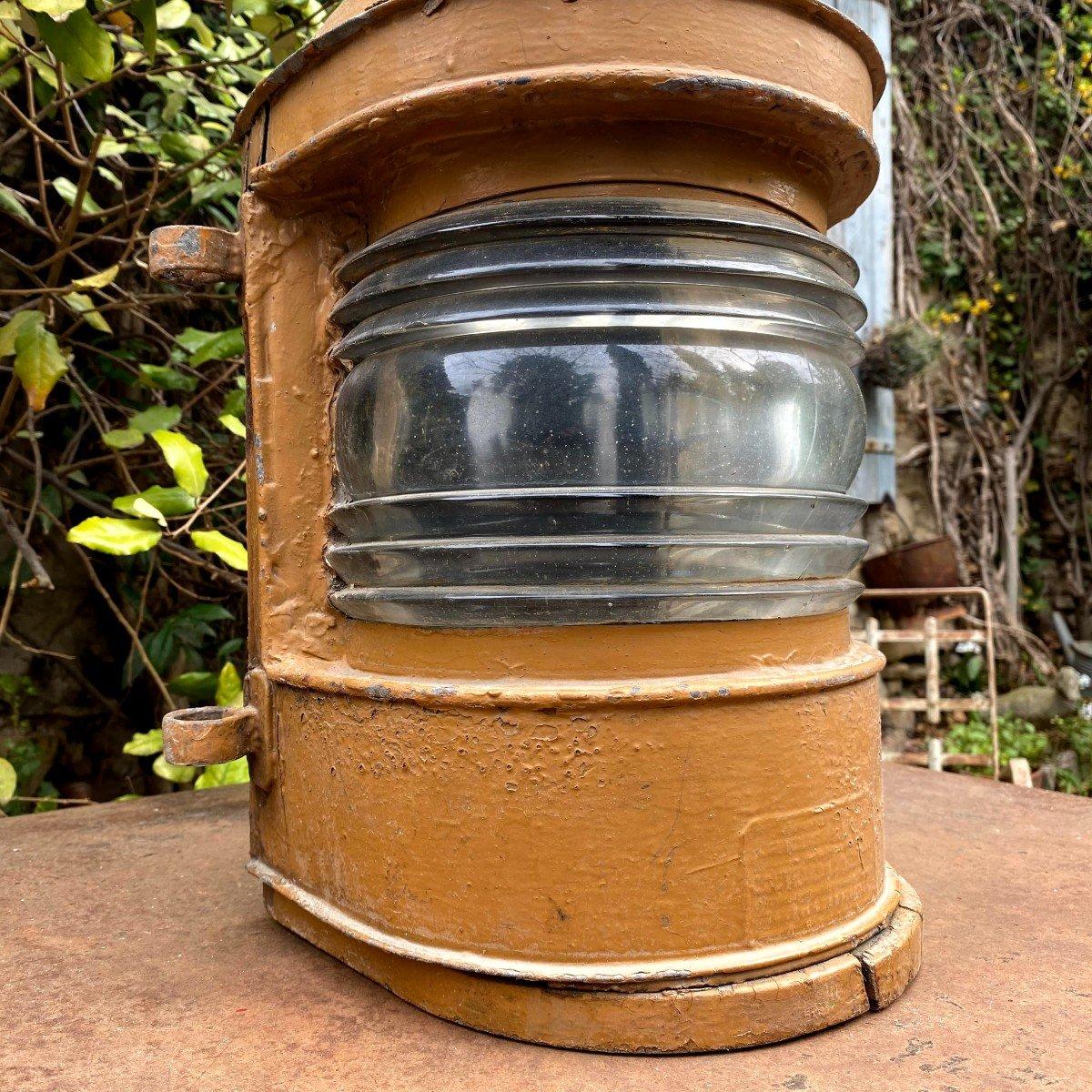 Lanterne d'Applique de Bateau 19ème-photo-4