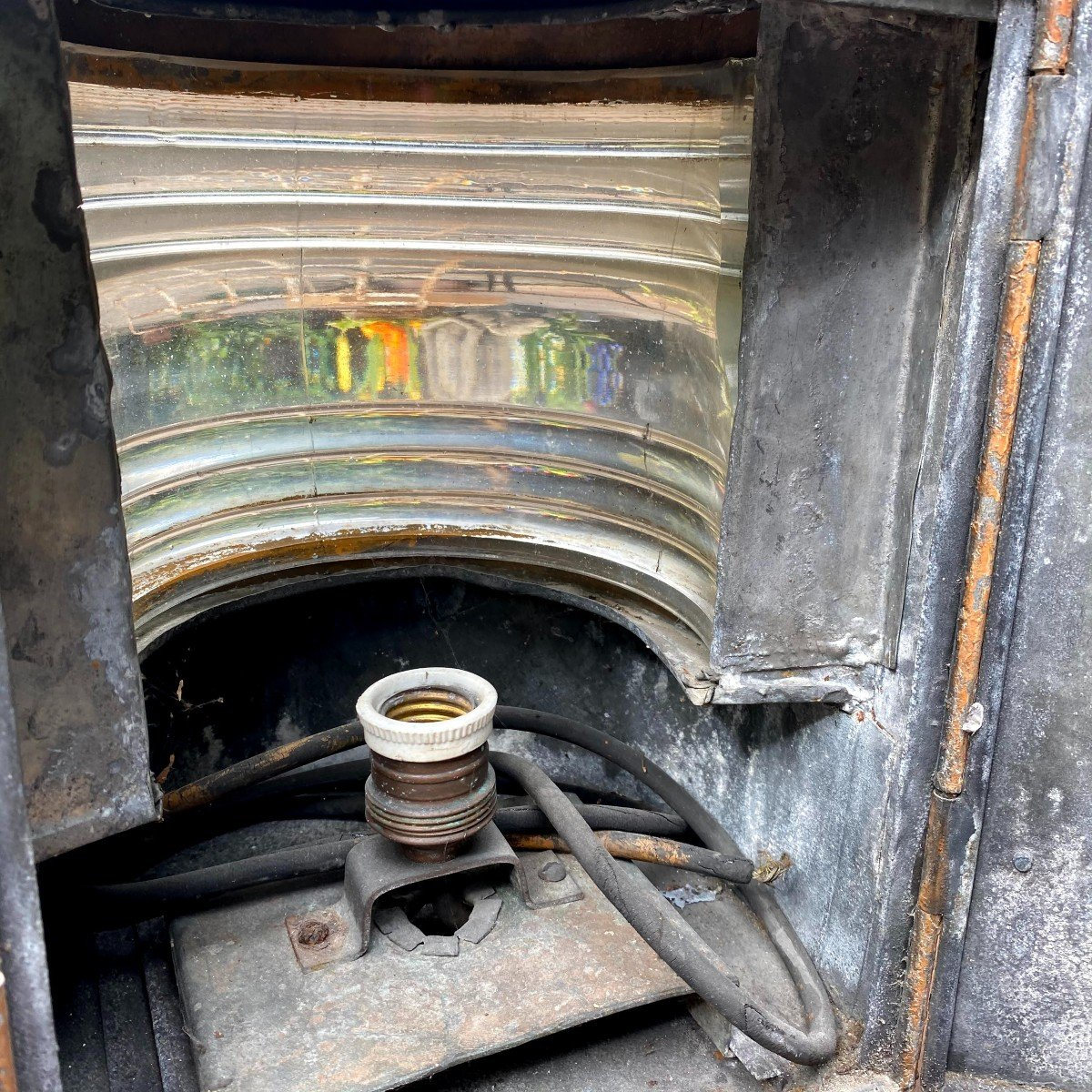 Lanterne d'Applique de Bateau 19ème-photo-8