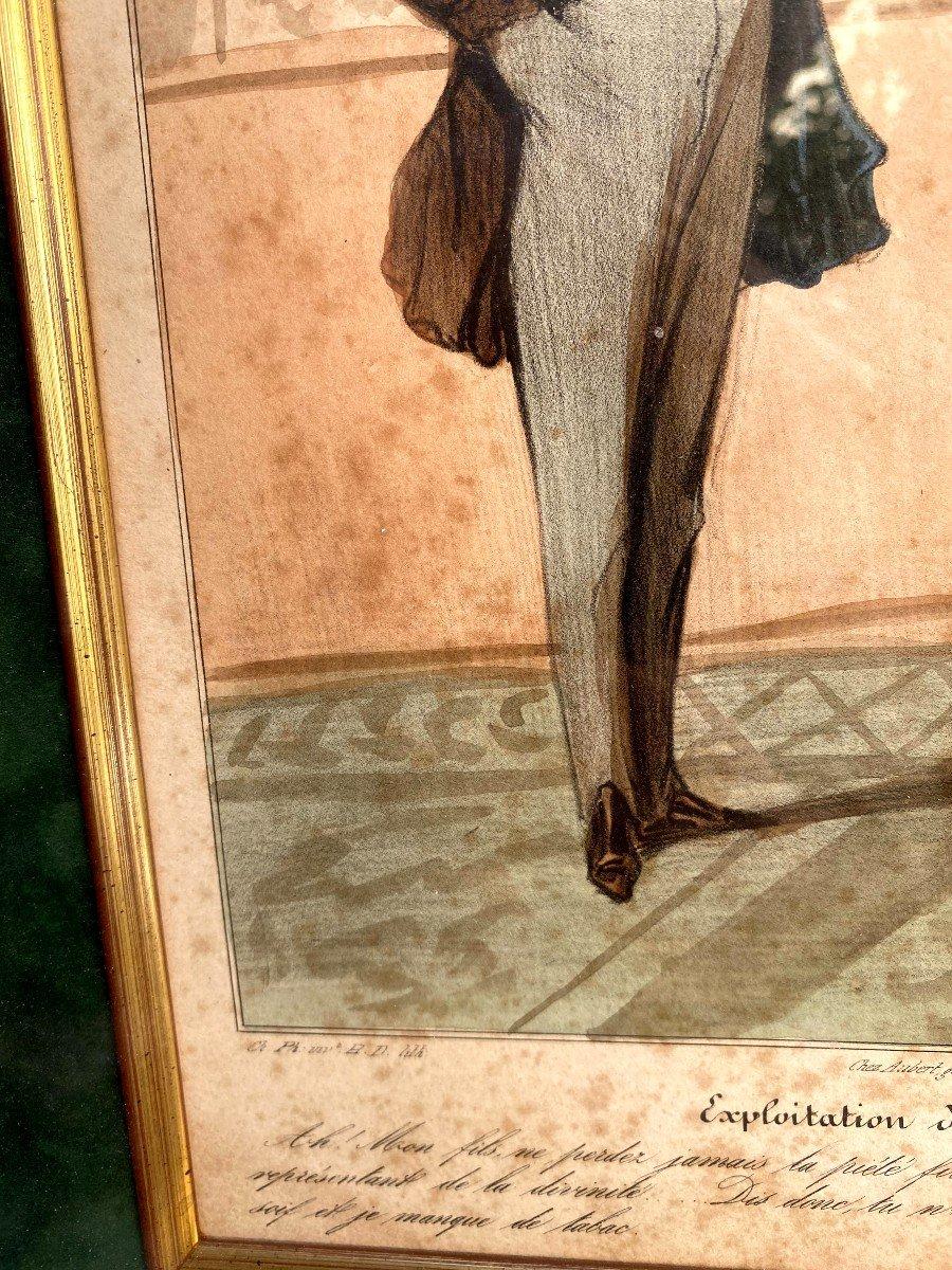 Deux Lithographies De  La Série De Caricaturana De Honoré Daumier-photo-5