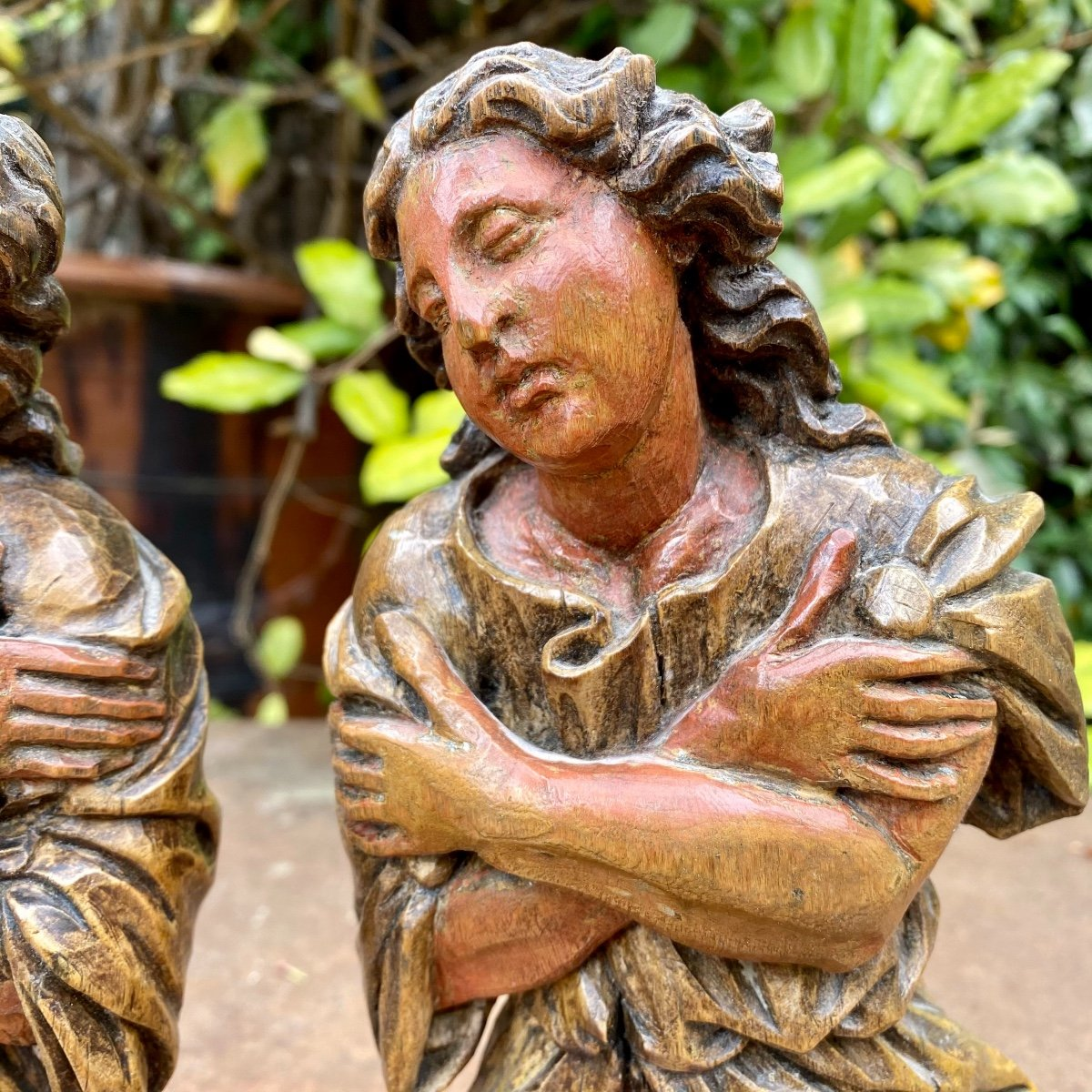 Paire D Anges En Prière -photo-2
