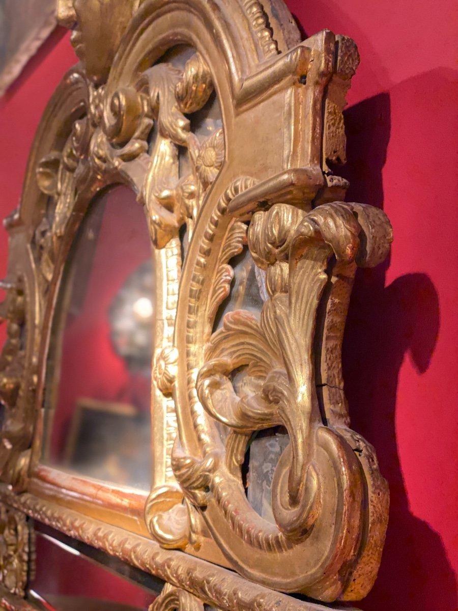 Miroir Doré Louis XIV à Parecloses 18ème-photo-3