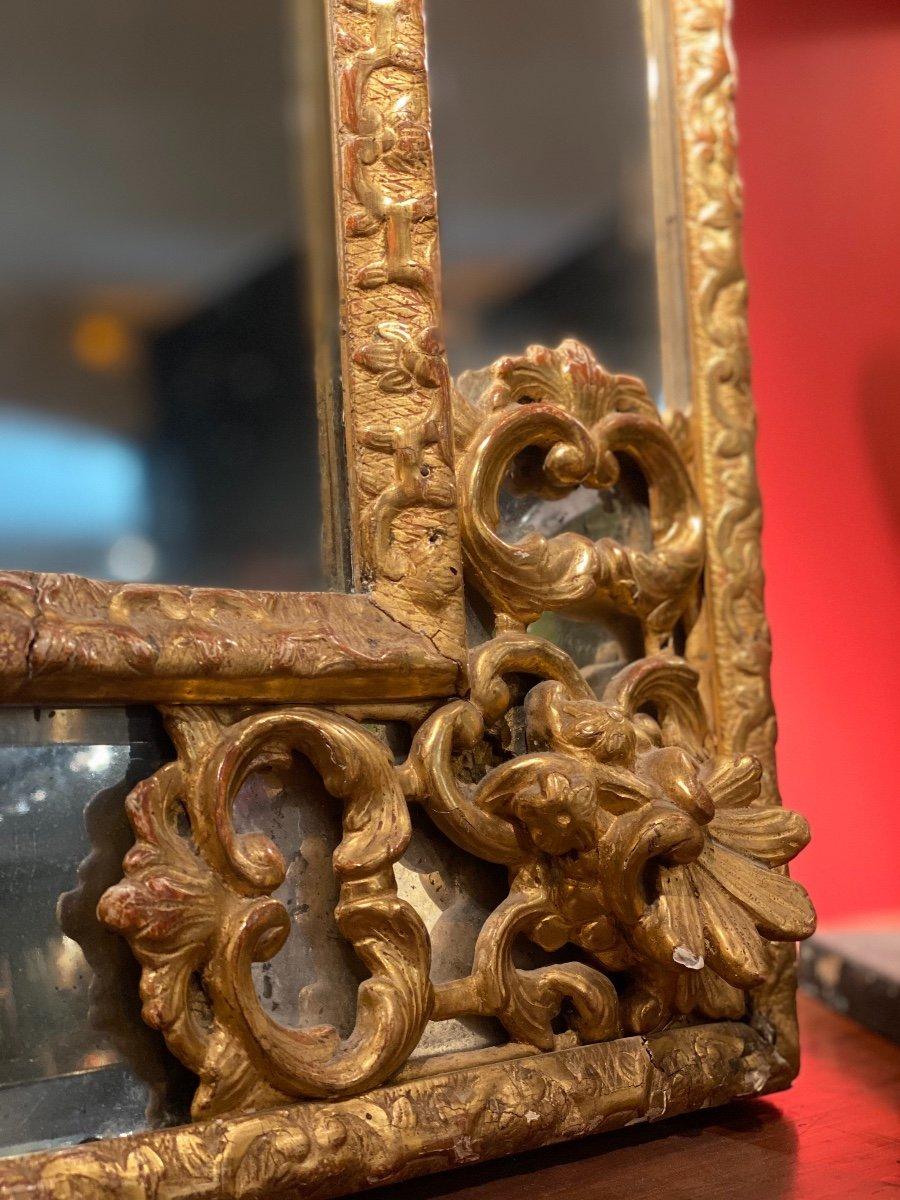 Miroir Doré Louis XIV à Parecloses 18ème-photo-6