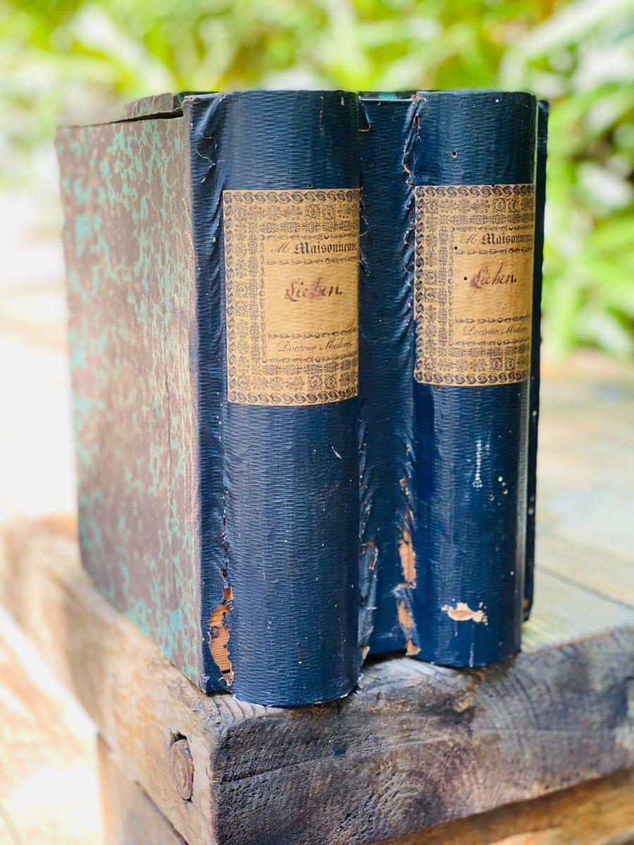 Boîte à Archives En Trompe-l'œil De Livres-photo-3