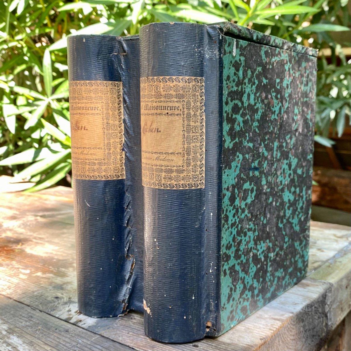 Boîte à Archives En Trompe-l'œil De Livres-photo-4