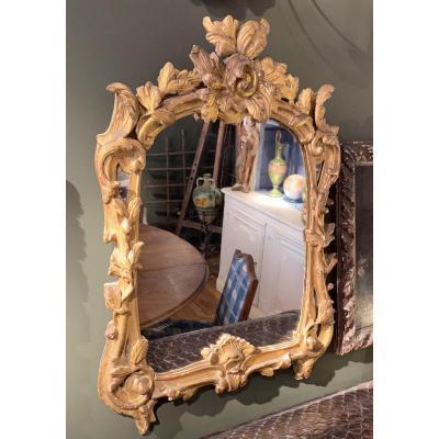 18th Century Mirror - Louis XV Regency Transition