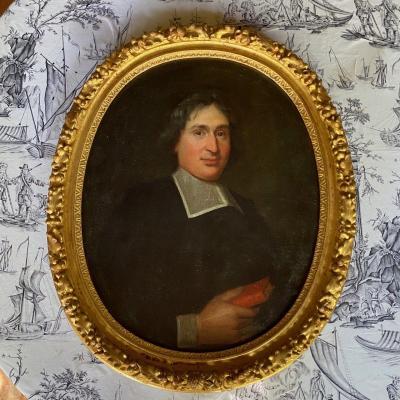 Portrait D'ecclésiastique Milieu 17ème
