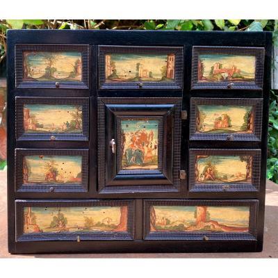 Petit Cabinet Noirci 17ème