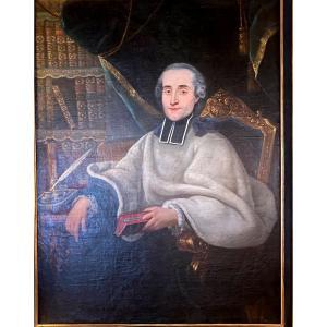 Grand Portrait D Ecclésiastique 17ème