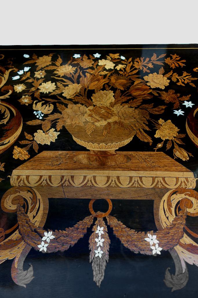 Bureau / Table Mazarine Aux Jasmins