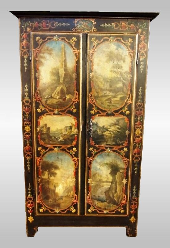 Rare Armoire d'Uzes, XVIIIe Siècle