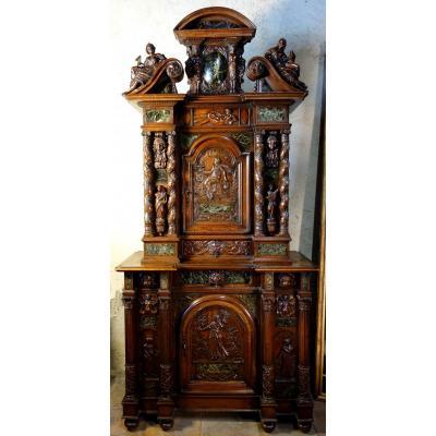 Cabinet Bellifontain Attribué à La Maison Ribaillier, Fournisseur De Napoléon III