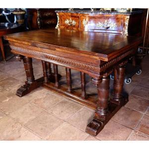 D'après Du Cerceau; Table « En Portique » De La Seconde Renaissance