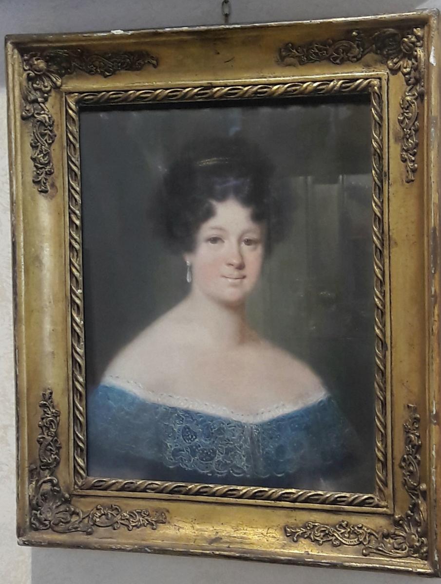 Portrait Of A Pastel Lady