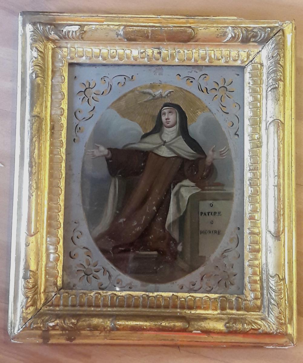 Portrait Of Santa Eighteenth Century