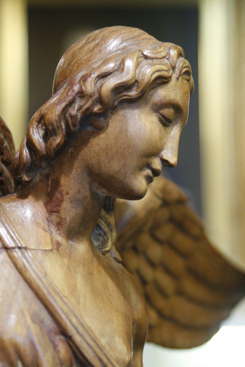 Ange Et Chérubin Sculpture Du 19ème
