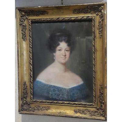 Portrait d'Une Dame Pastel