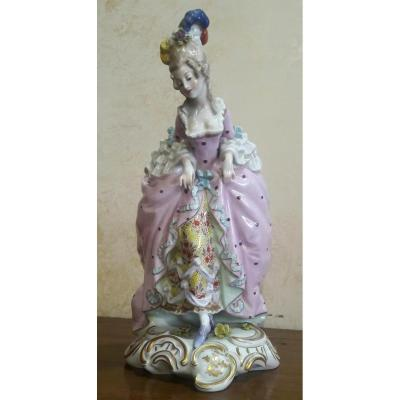 Porcelain Figurine From Capodimonte