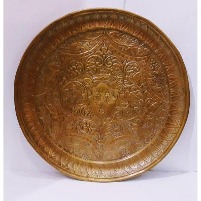 Plate With The Coat Of Arms Of The Barberini Family