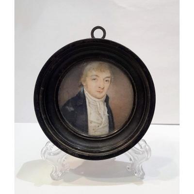 19th Century Miniature Gentleman