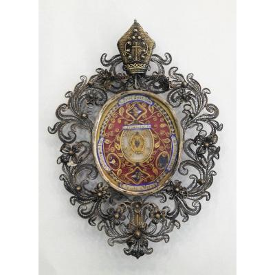 Reliquary With Bishop's Diadem
