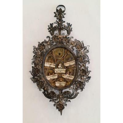 18th Century Silver Reliquary