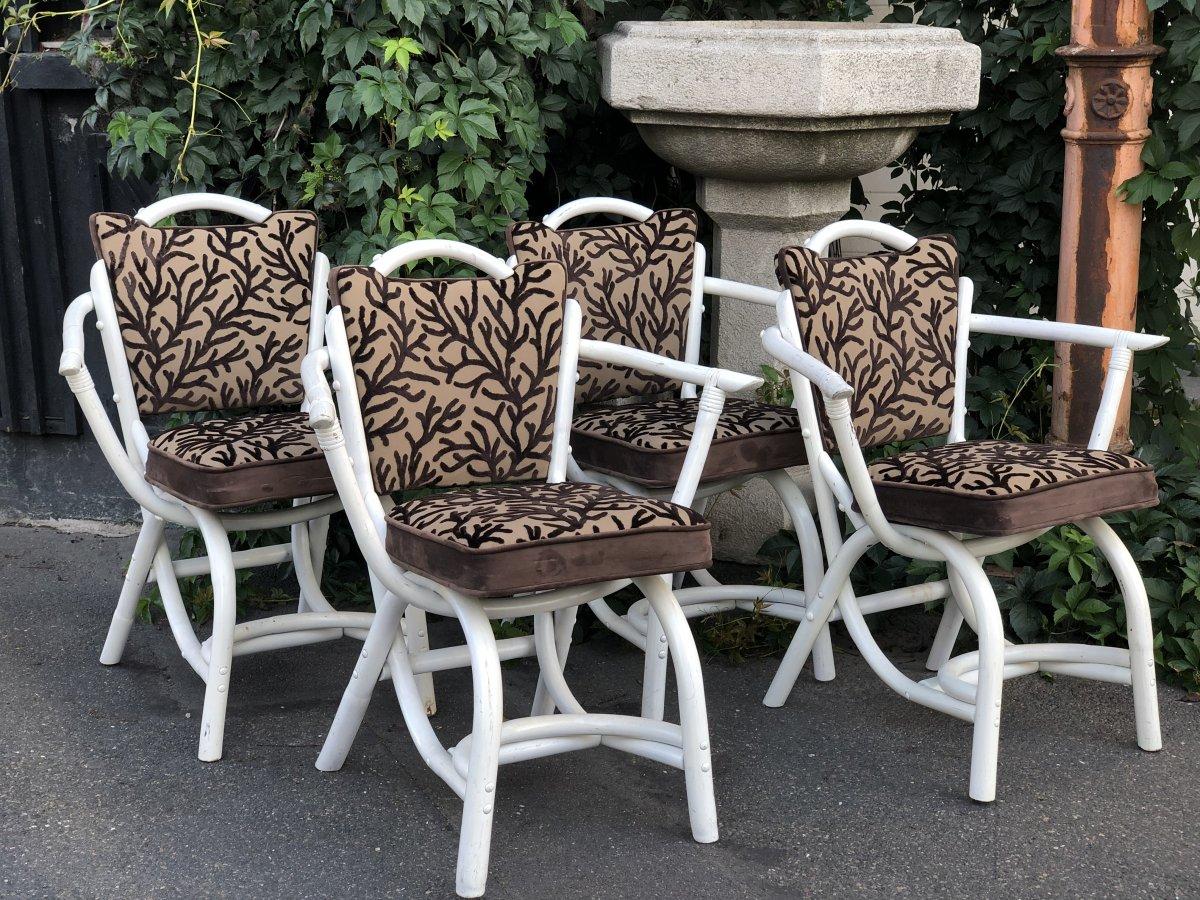 Ensemble De 4 fauteuils