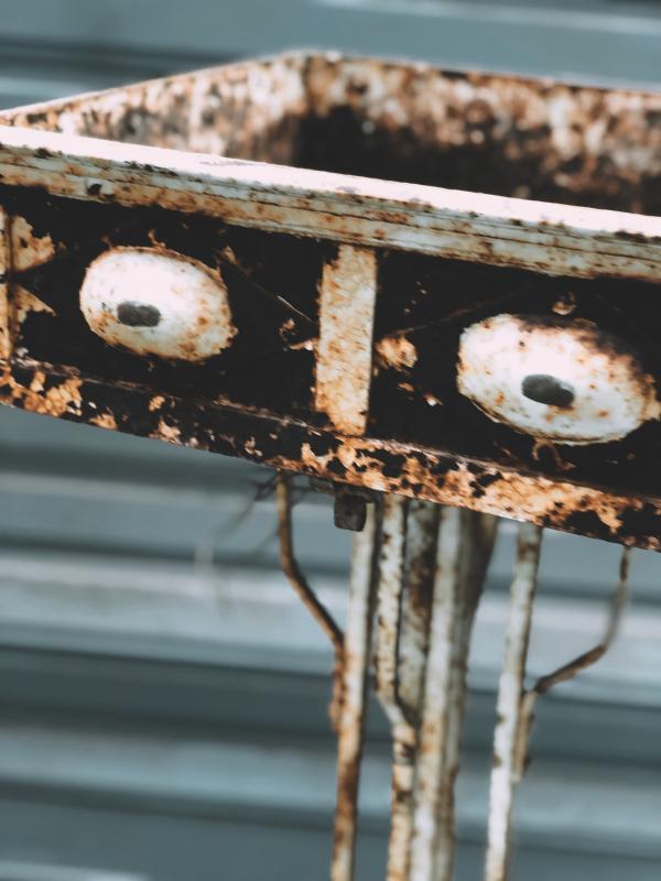 Wrought Iron Planter-photo-3