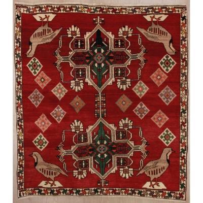 Tapis Kashkuli Iran 140 X 123 Cm