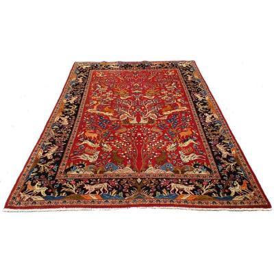 Tapis kashan Iran 263 x 153 cm