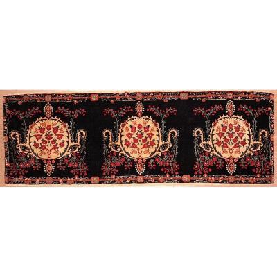 Tapis kerman laver Iran 136 x 46 cm