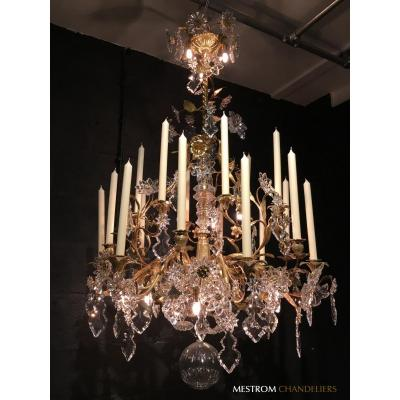 A Nineteenth Century Floral Chandelier