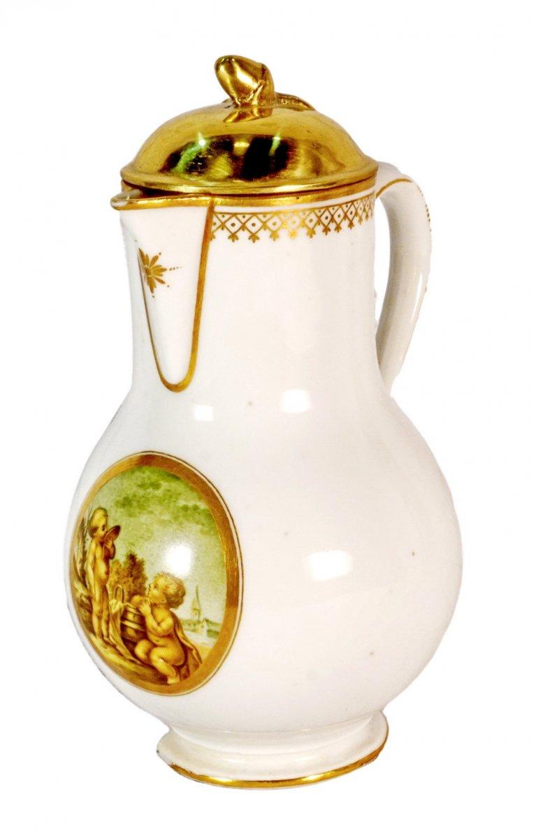 Pot à Lait En Porcelaine De Lille – Manufacture Au Dauphin – Ep. XVIIIe
