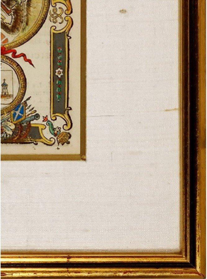 Gravure - Estampe du Château de Lourdes - (Hautes Pyrénées - 65) - Ep. XVIIIe-photo-2