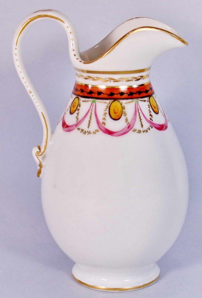 Pot à Lait en Porcelaine de Paris - Ep. XVIIIe - Louis XVI-photo-3