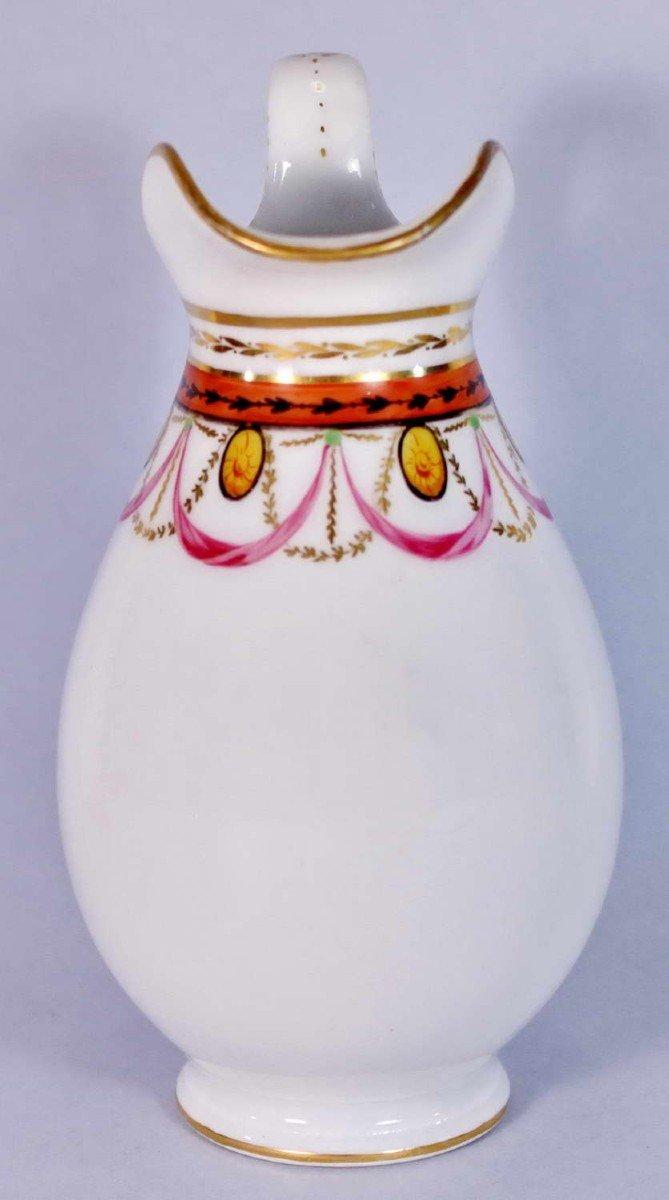 Pot à Lait en Porcelaine de Paris - Ep. XVIIIe - Louis XVI-photo-4
