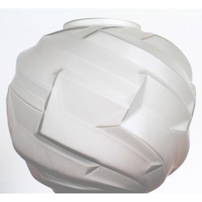 Saturn Ball Vase André Hunebelle France Art Deco 1930