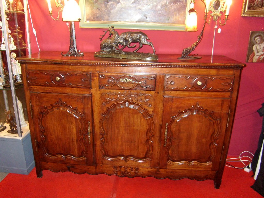 Sideboard With Two Doors.