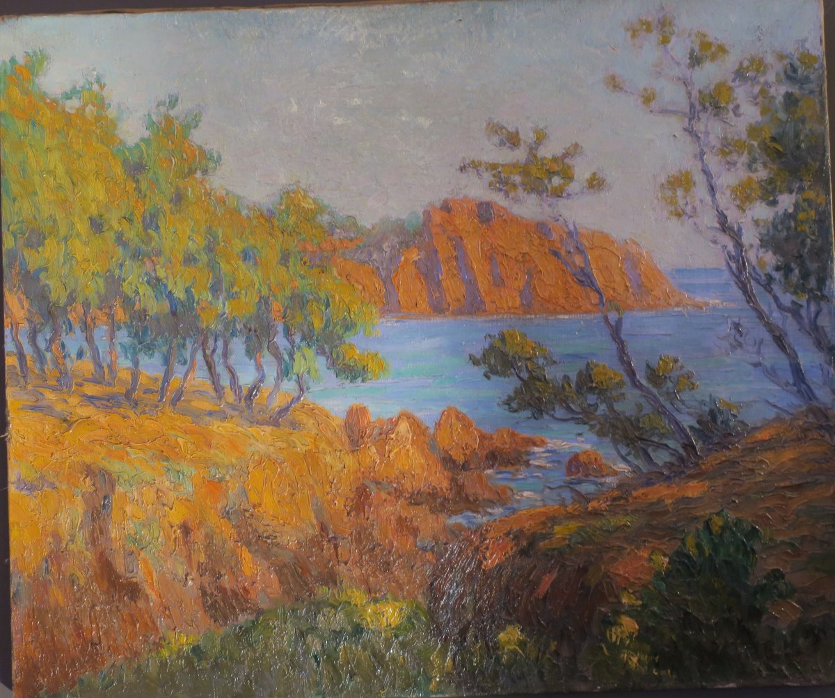 """Painting """"the Red Rocks"""""""